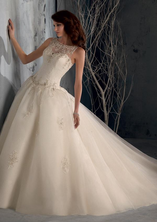 blu bridal gown (10)