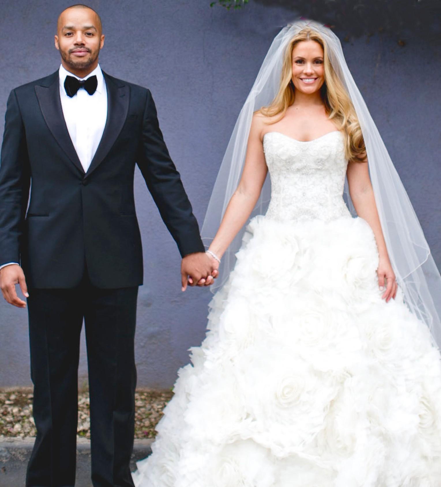 Gallery of celebrity wedding dresses