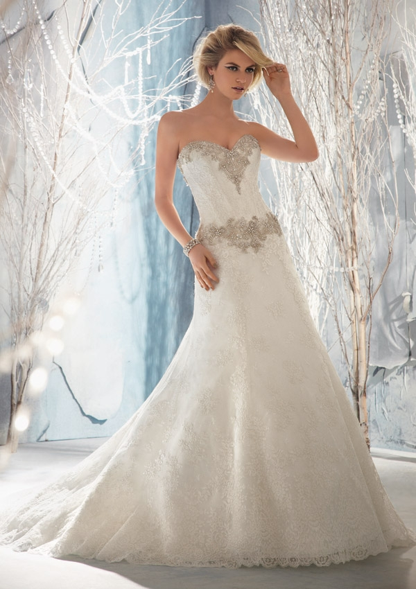 Mori lee bridal 2014 spring collection the fashionbrides Mori lee discontinued wedding dresses