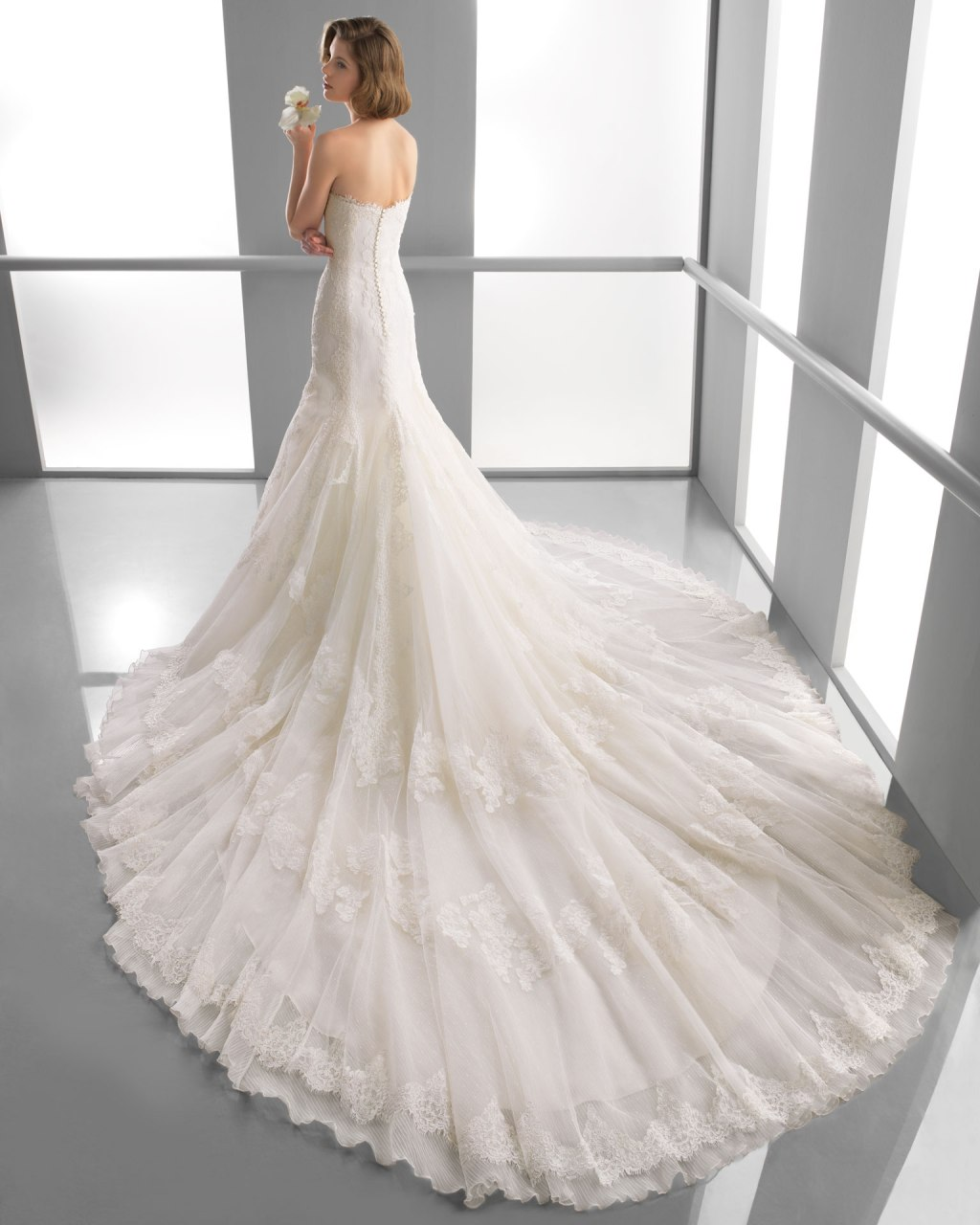 Alma novia 2014 spring bridal collection the fashionbrides for Alma novia wedding dress