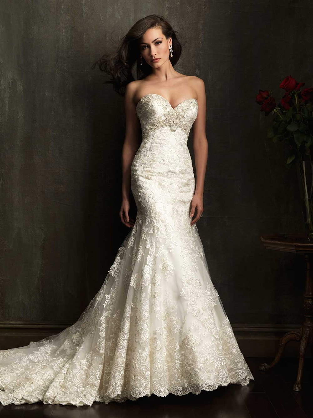 Allure Bridals 2014 Spring Collection | The FashionBrides