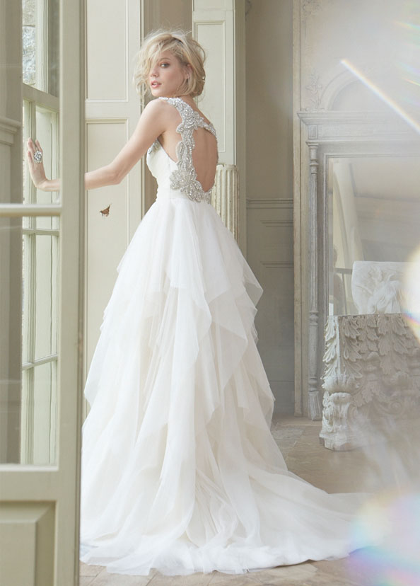 hayley-paige-bridal-english-net-a-line-natural-draped-sweetheart-tiered-crystal-straps-keyhole-chapel-6350_zm[1]