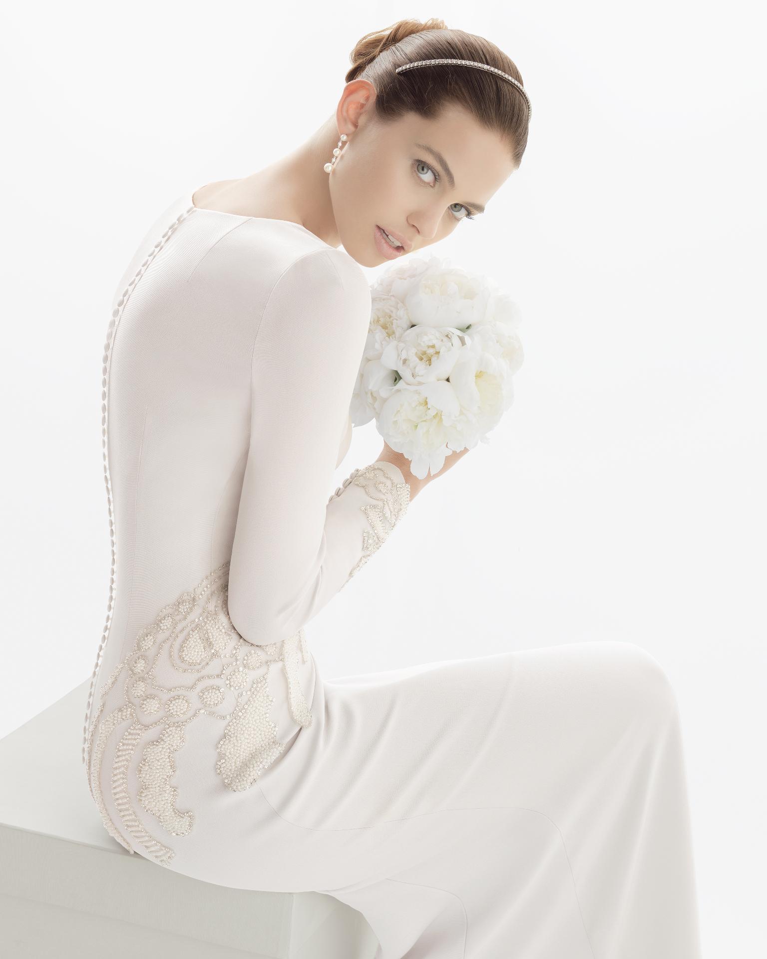 Unique Rosa Clara Wedding Dresses Long Sleeve | Wedding