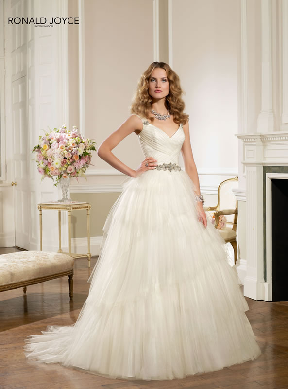 Ronald joyce spring 2014 bridal collection the fashionbrides for 20 style wedding dresses