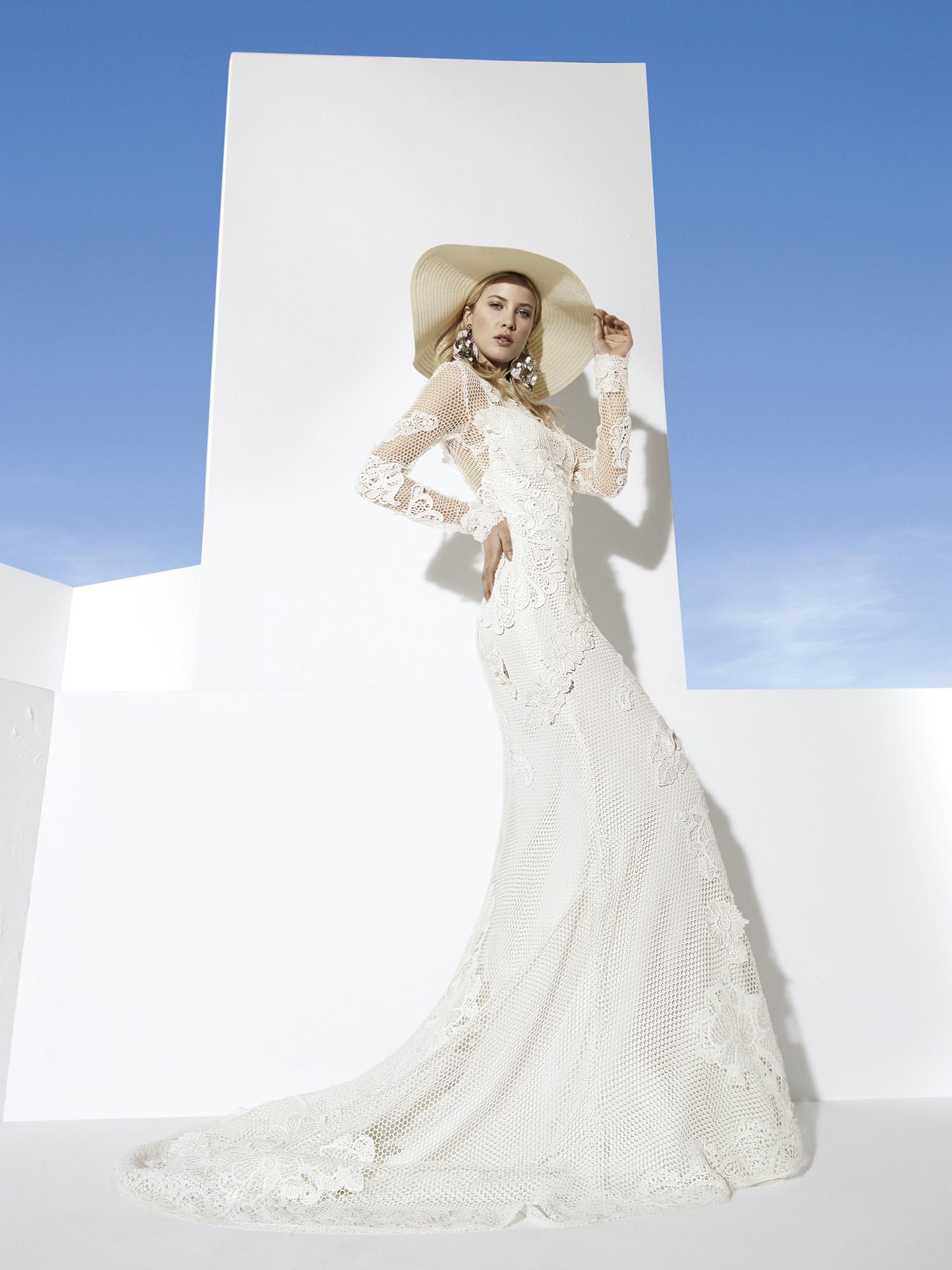 YolanCris Boho Girl 2014 Bridal Collection