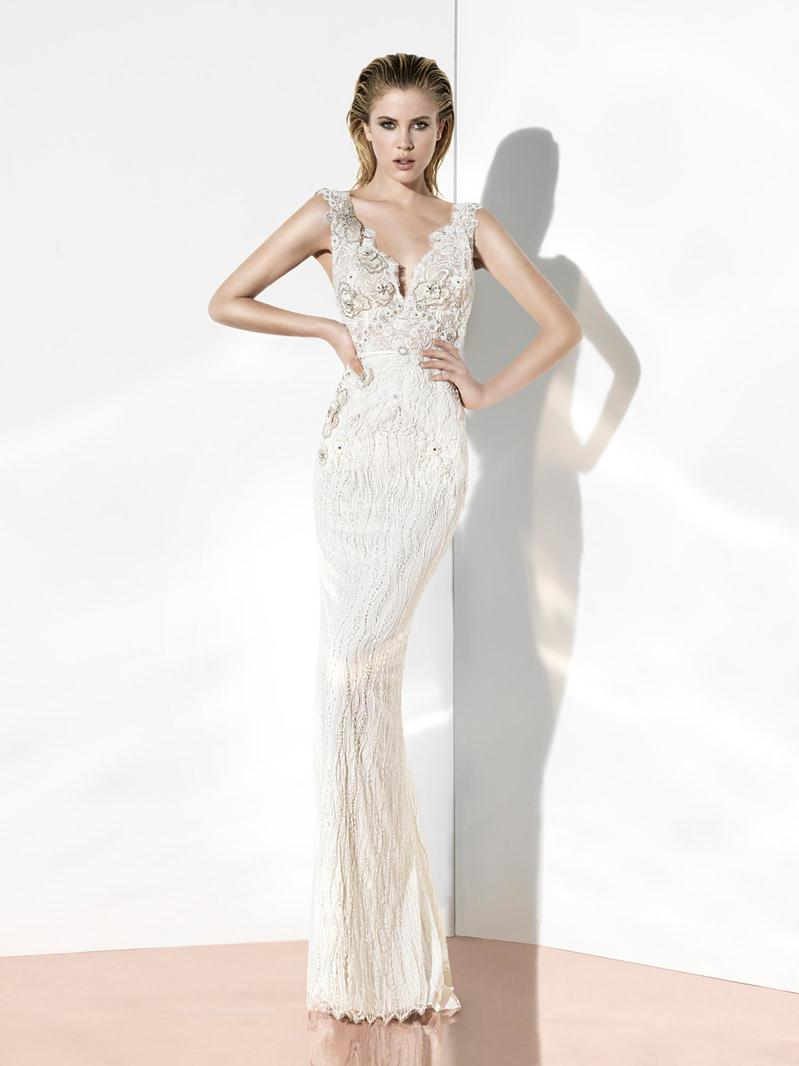 Glint couture by yolancris 2014 bridal collection for Modern haute couture