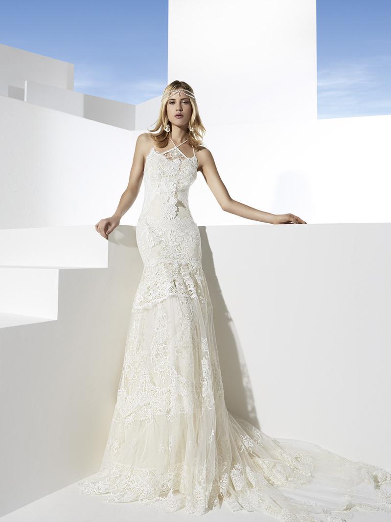 Boho girl 2014 spring bridal collection ii for Las vegas wedding dress