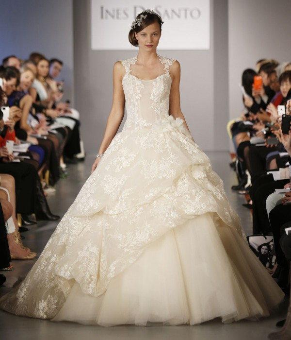 Di Santo Wedding Gowns: Ines Di Santo 2014 Fall Bridal Collection