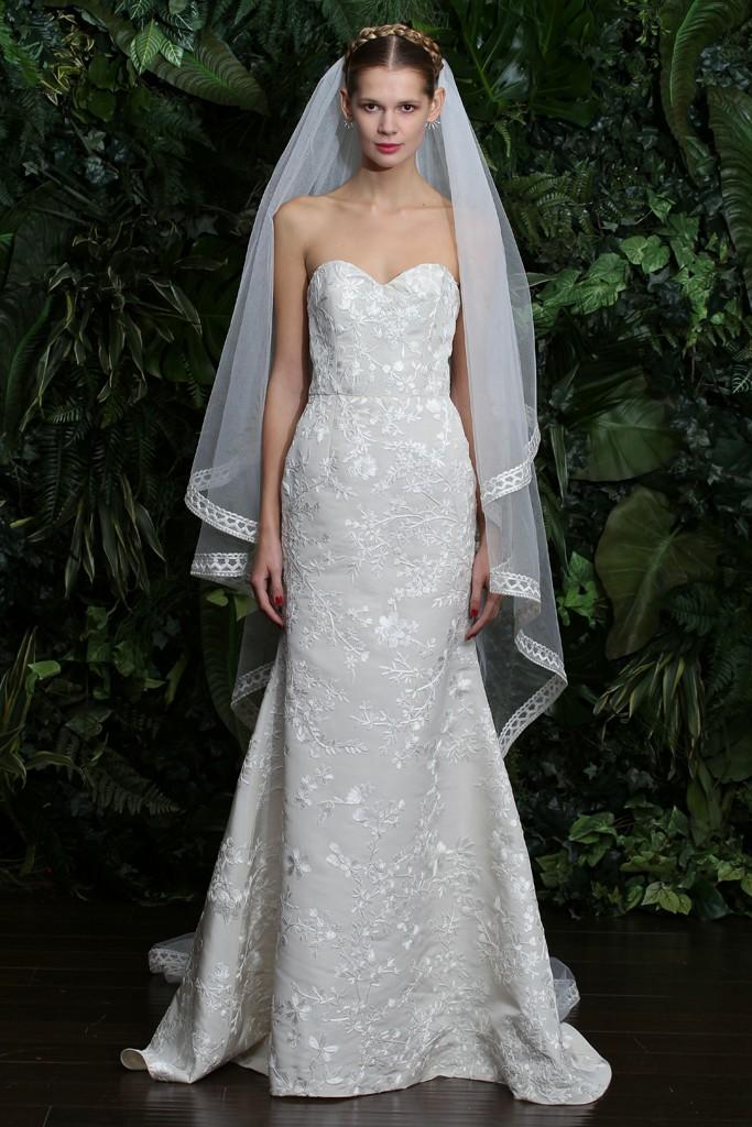 Naeem khan 2014 fall bridal collection the fashionbrides for Naeem khan wedding dress
