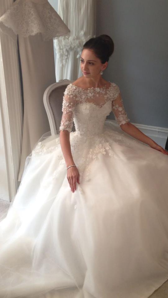 steven khalil wedding gown (37) | The FashionBrides