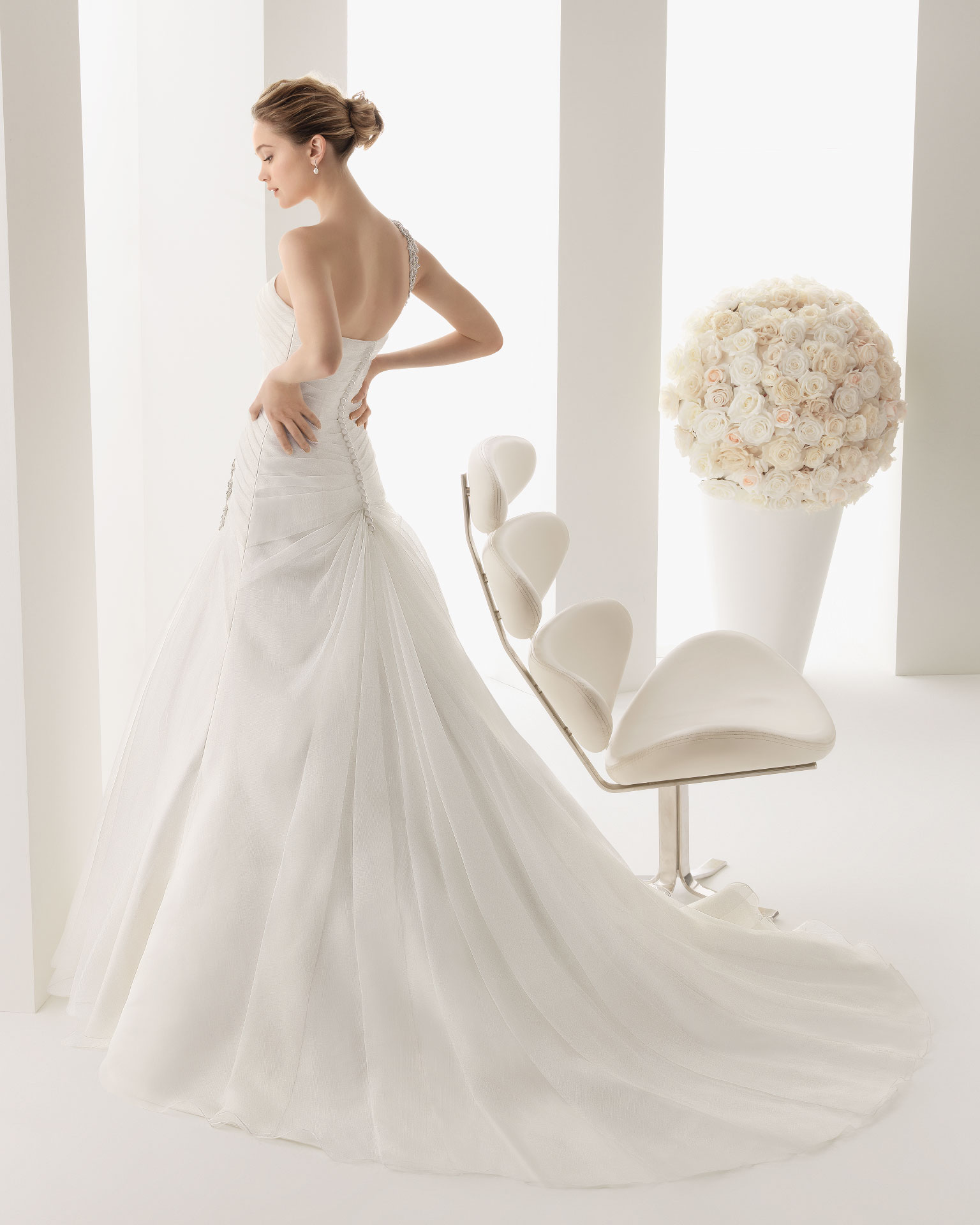 Two 2014 spring rosa clara bridal collection iii the for Italian design wedding dresses