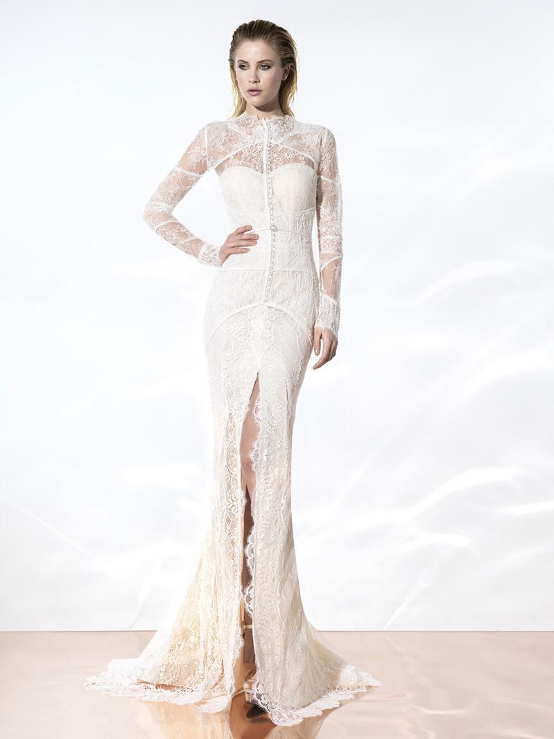 Yolancris Long Sleeve Wedding Dress : Wedding dresses latest trends lace dress