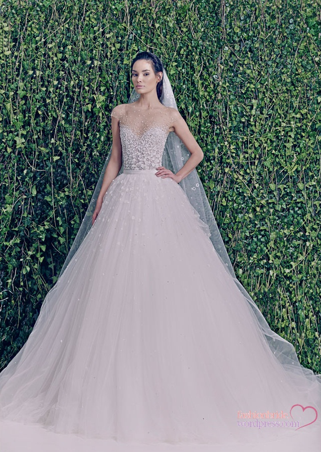 Zuhair murad 2014 spring bridal collection the fashionbrides for Zuhair murad 2014 wedding dresses