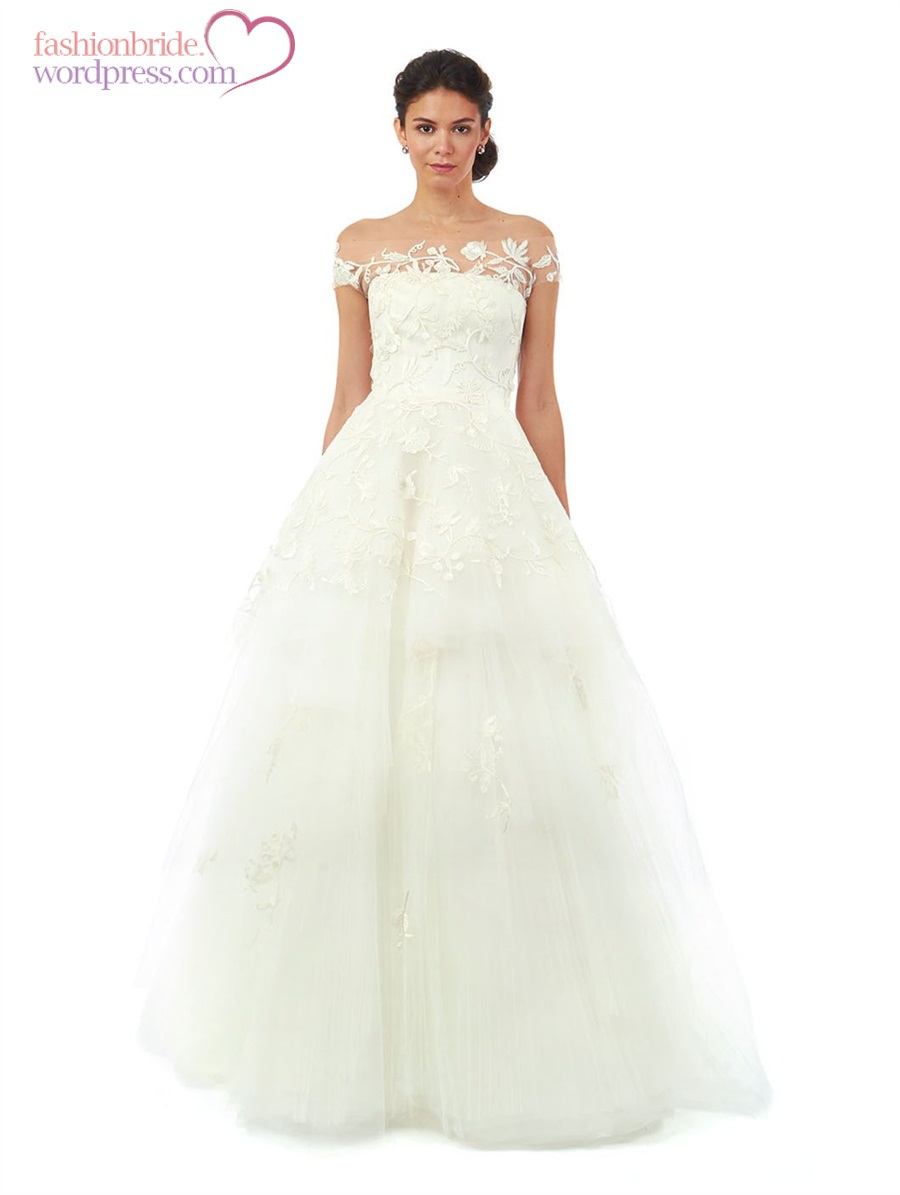 Oscar de la renta 2014 wedding gowns 22 fashionbride 39 s for Wedding dresses in la