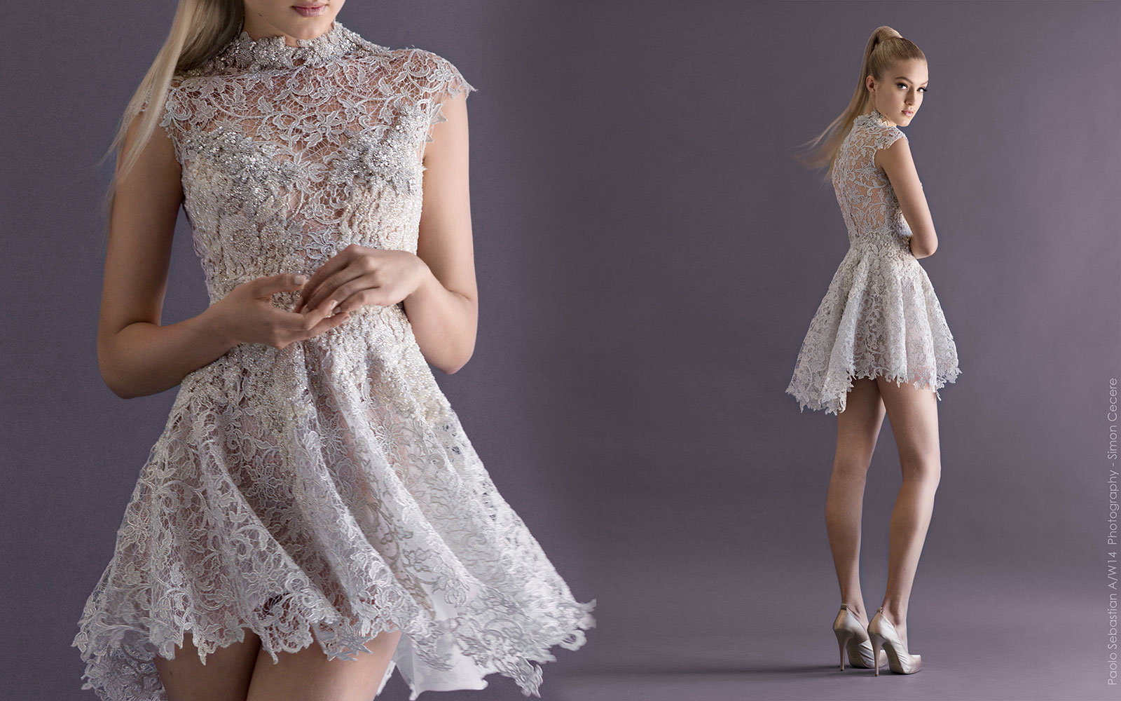 Paolo Sebastian 2014 Fall Couture Collection The