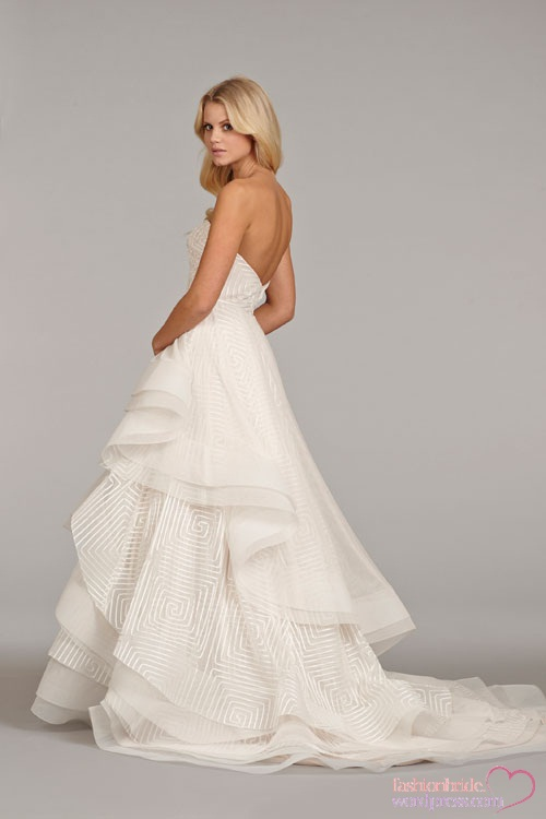 Hayley paige spring 2014 bridal collection fashionbride for Hayley paige wedding dress