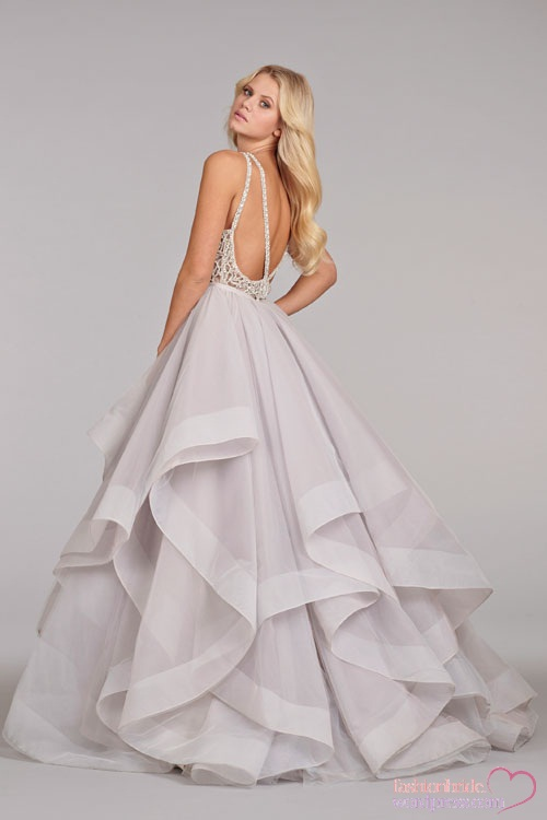 Hayley paige spring 2014 bridal collection the fashionbrides for Hayley paige wedding dress