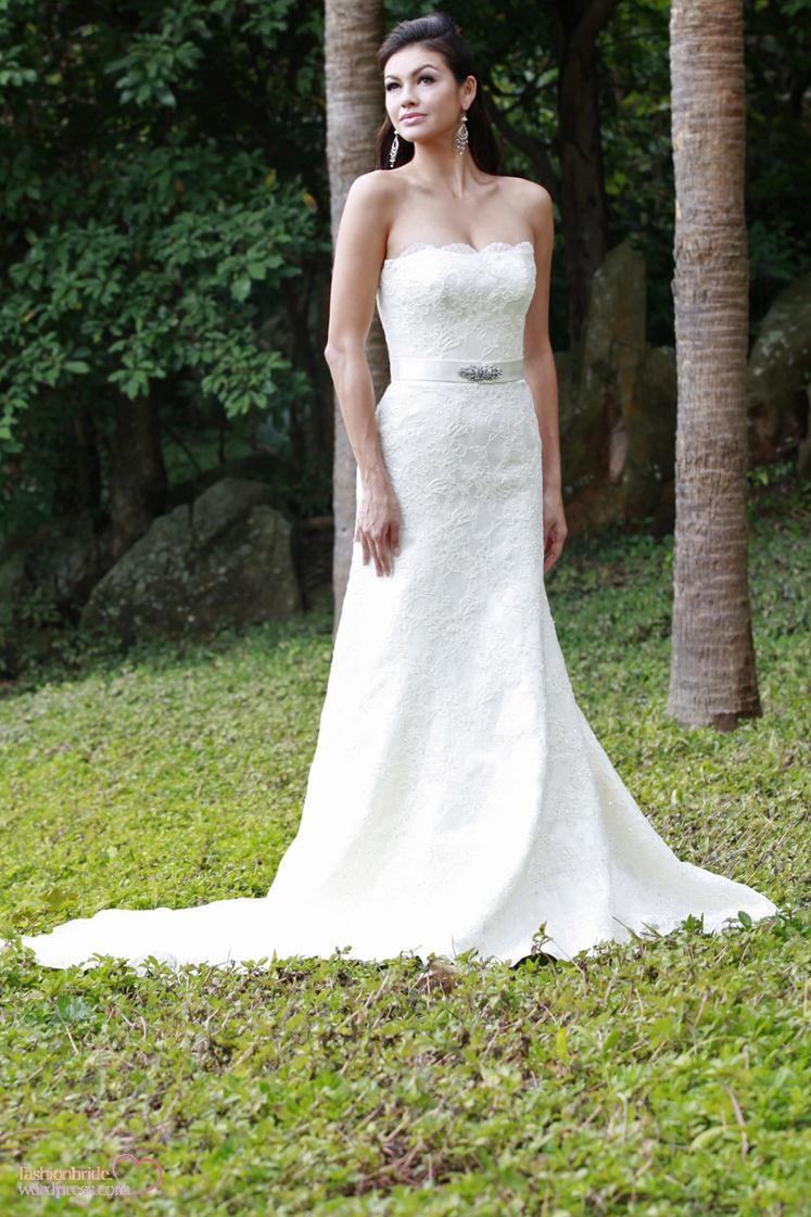 Augusta jones spring 2014 bridal collection fashionbride for Wedding dresses in augusta ga