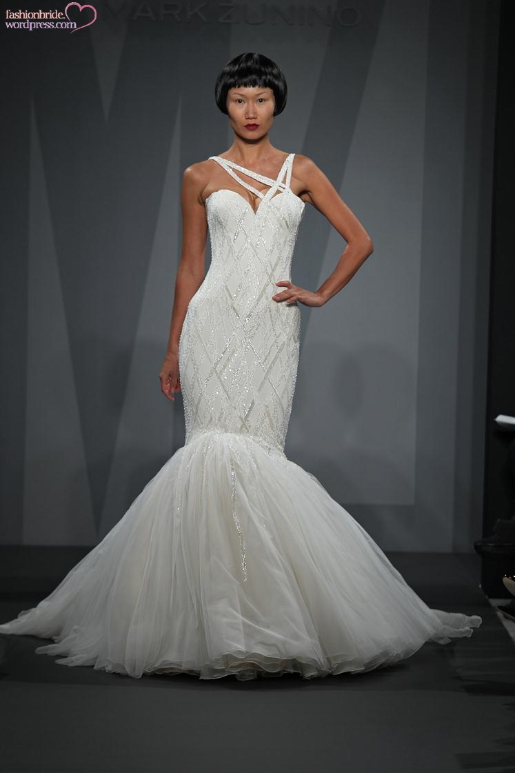 Mark zunino 2014 spring bridal collection the fashionbrides for Kleinfeld wedding dresses sale