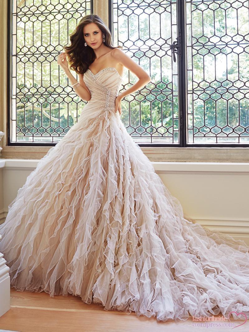 Sophia Tolli 2014 Fall Bridal Collection | The FashionBrides