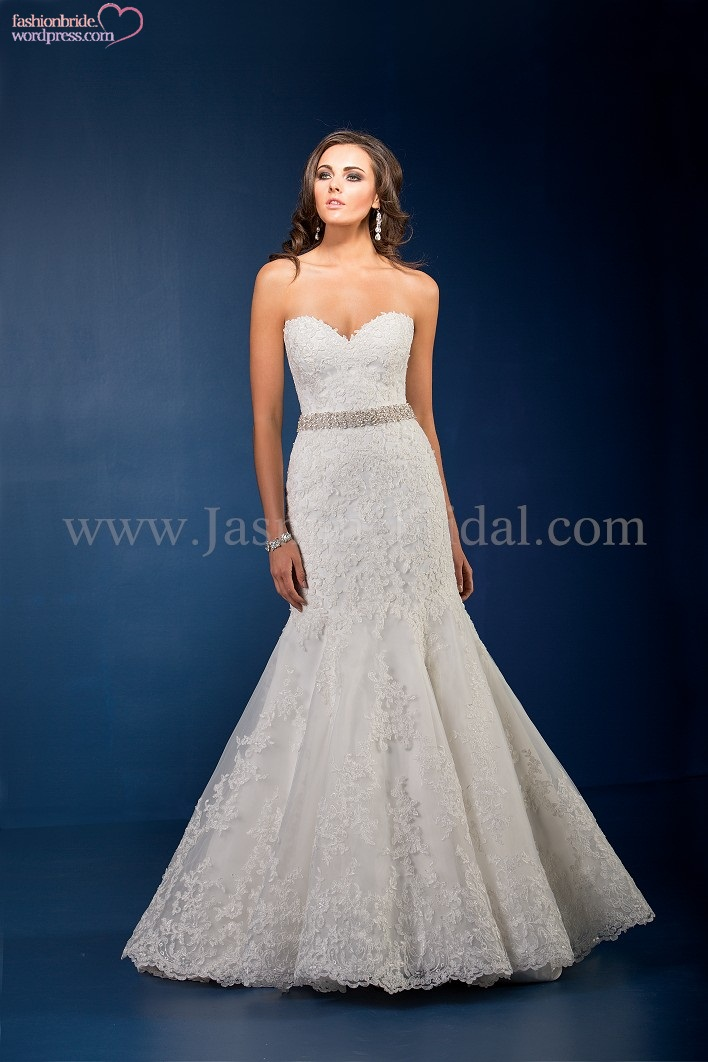 Jasmine couture 2015 spring bridal collection the for Jasmine couture wedding dress