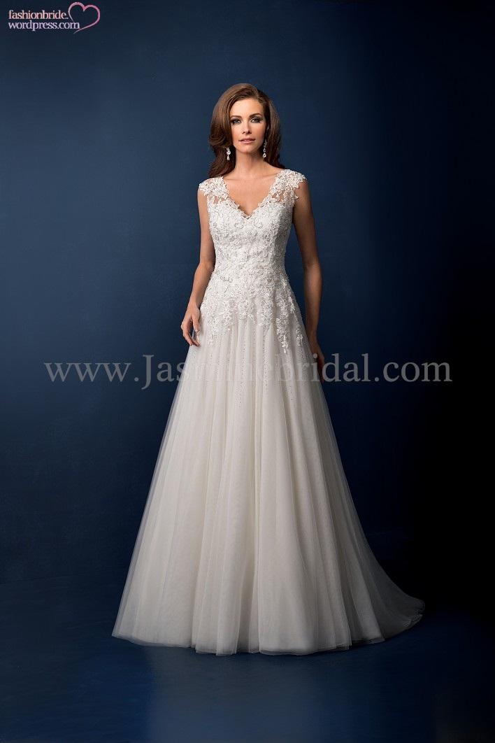 Jasmine couture 2014 wedding gowns 16 fashionbride 39 s for Jasmine couture wedding dresses