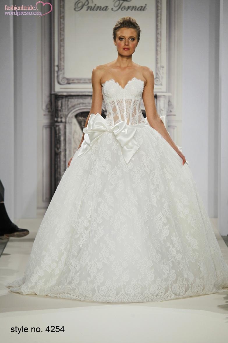 Pnina tornai 2014 fall bridal collection the fashionbrides for Pnina tornai corset wedding dresses
