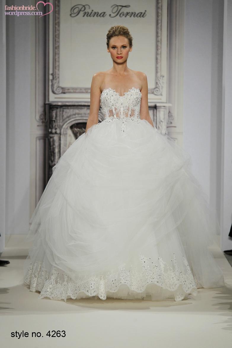 Pnina Tornai 2014 Fall Bridal Collection