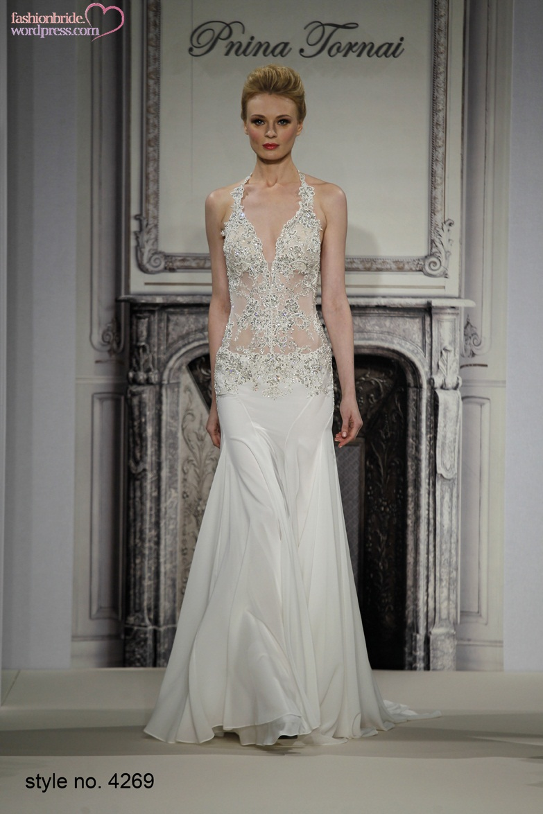 Pnina tornai 2014 fall bridal collection the fashionbrides for How to clean your own wedding dress