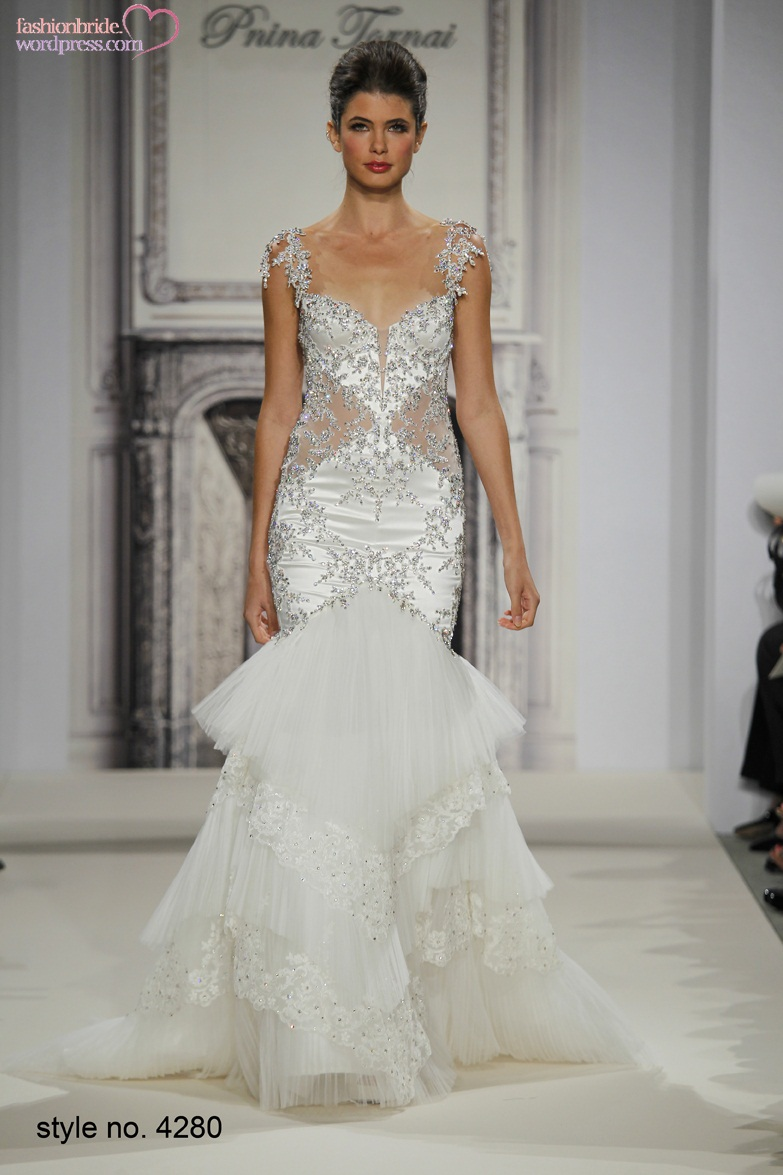 Pnina tornai 2014 fall bridal collection the fashionbrides for Kleinfeld mermaid wedding dresses