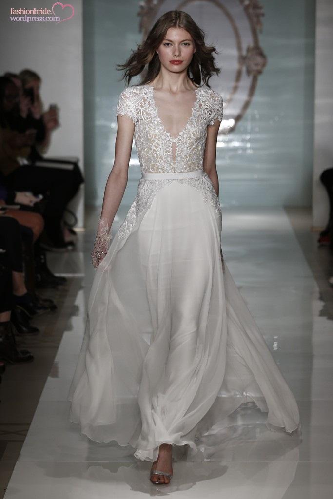 Reem Acra 2015 Spring Bridal Collection The Fashionbrides