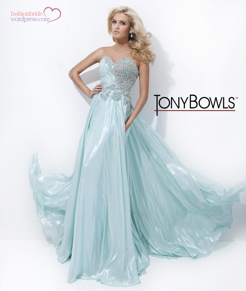Tony Bowls 2014 Fall Evening Collection   The FashionBrides
