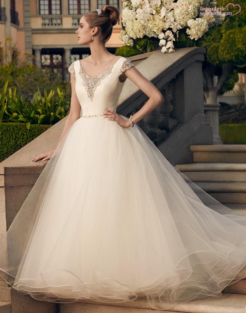 Casablanca 2014 fall bridal collection the fashionbrides for Casablanca wedding dresses 2015