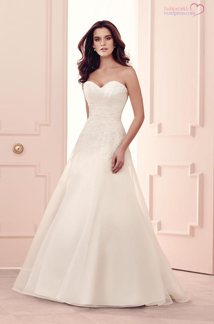 Paloma blanca 2014 fall bridal collection fashionbride 39 s for No lace wedding dress