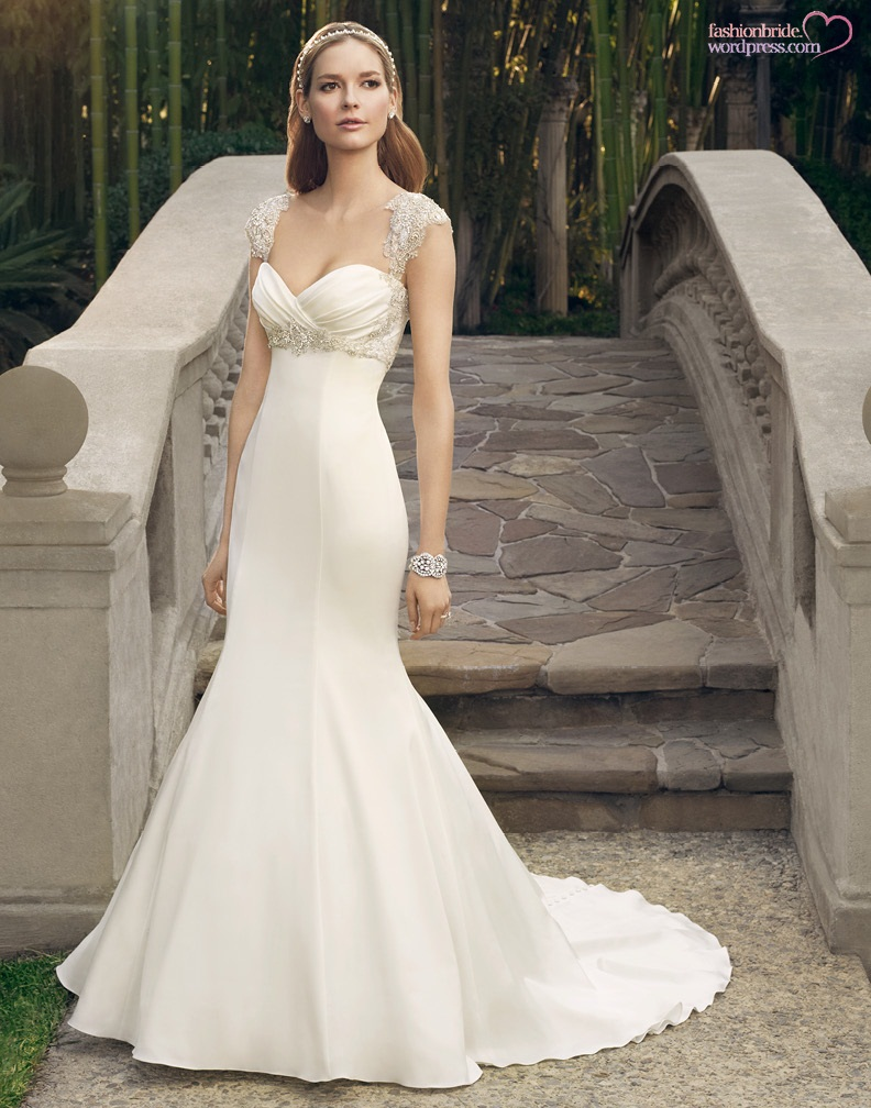 Casablanca wedding gowns 2014 2015 57 fashionbride39s for Casablanca wedding dress