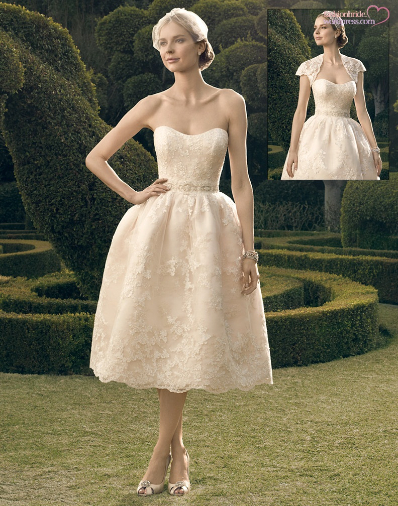 Casablanca 2014 fall bridal collection the fashionbrides for Casablanca wedding dress
