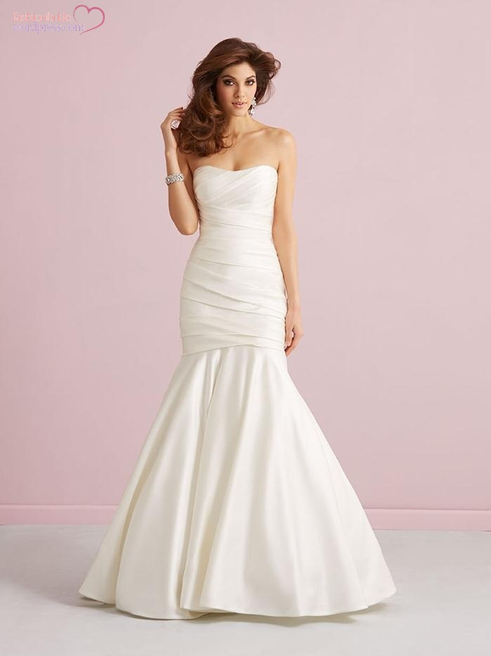 Allure romance 2015 spring bridal collection for Allure romance wedding dress