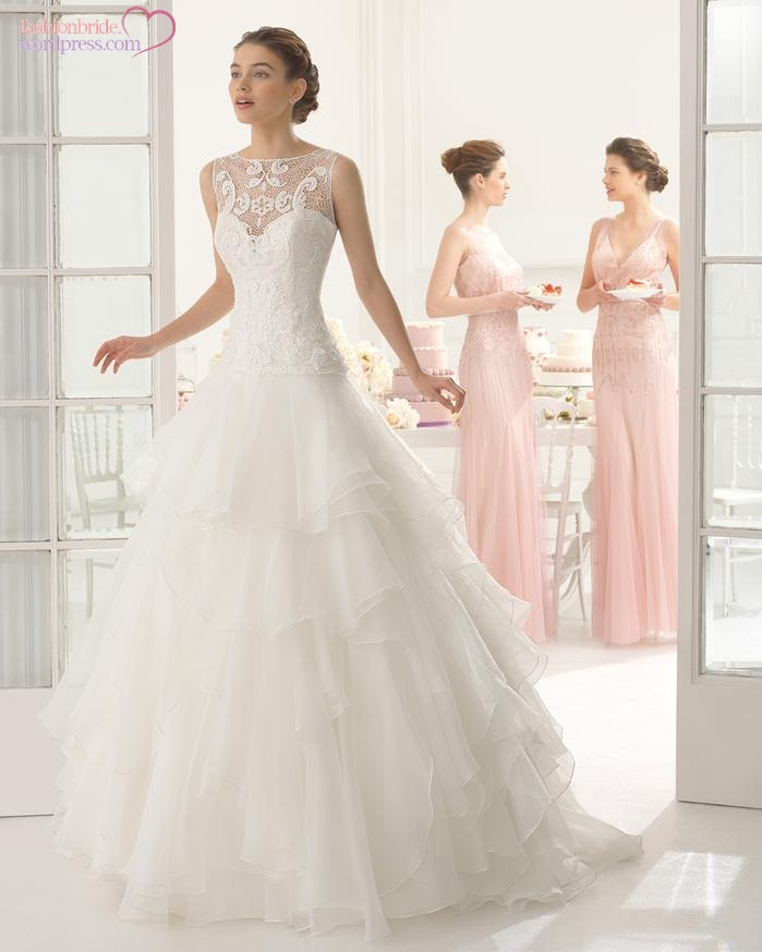 Aire barcelona 2015 spring bridal collection the for Most elegant wedding dresses