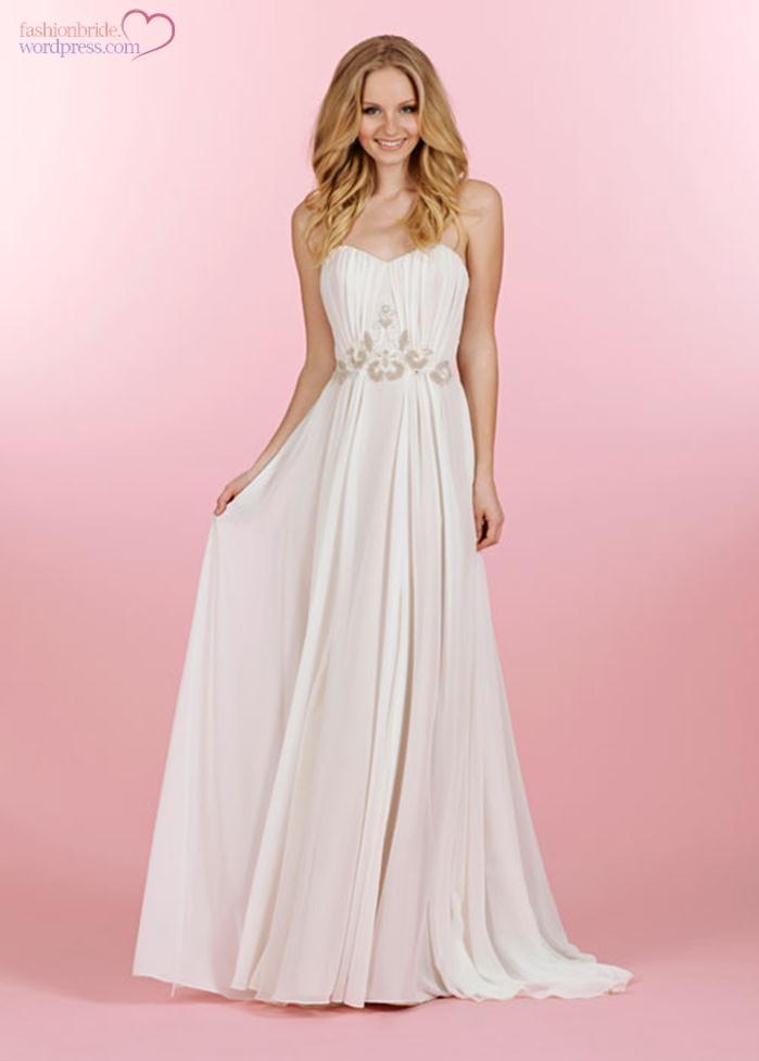 blush-hayley-paige-wedding-dresses-2014-bridal (13)   The FashionBrides