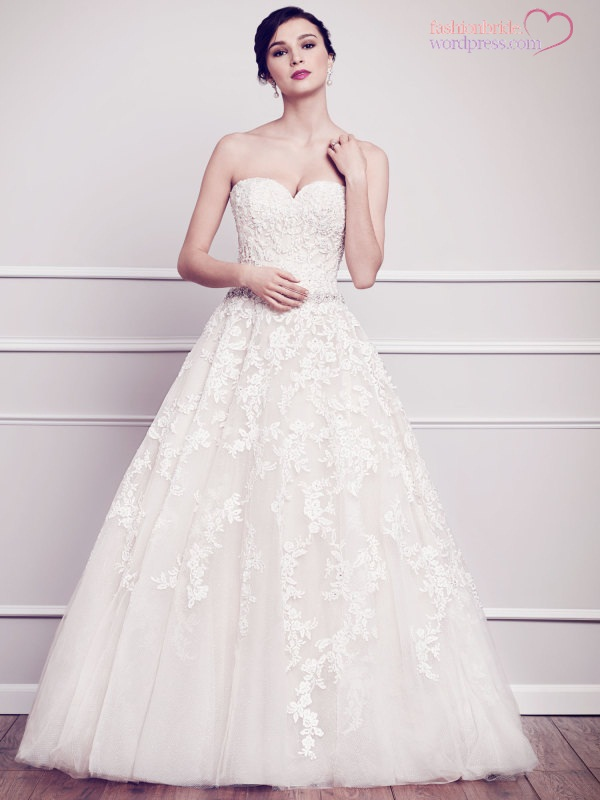Kenneth winston premiere 2015 spring bridal collection for Private label wedding dress