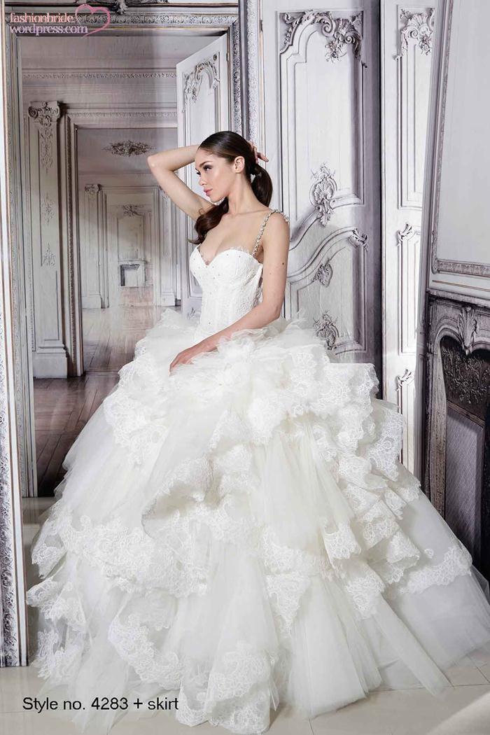 Pnina tornai 2015 spring bridal collection the fashionbrides for Wedding dress designer pnina tornai
