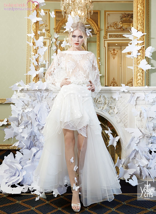 Yolancris lace couture 2015 spring bridal collection the for What does couture mean in french