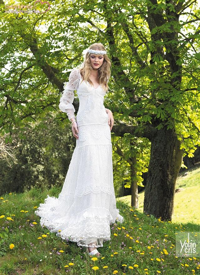 Свадебные платья bohemian bride