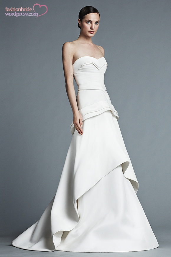 J mendel 2015 spring bridal collection the fashionbrides for J mendel wedding dress