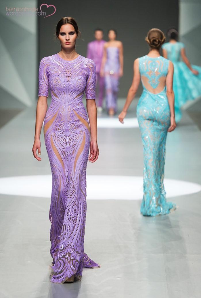 Michael Cinco Fashion Show: Michael Cinco 2014 Fall Bridal Collection