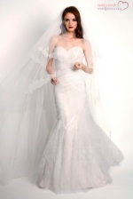 Modern Trousseau - Sloan Gown - shown with Shadow Veil