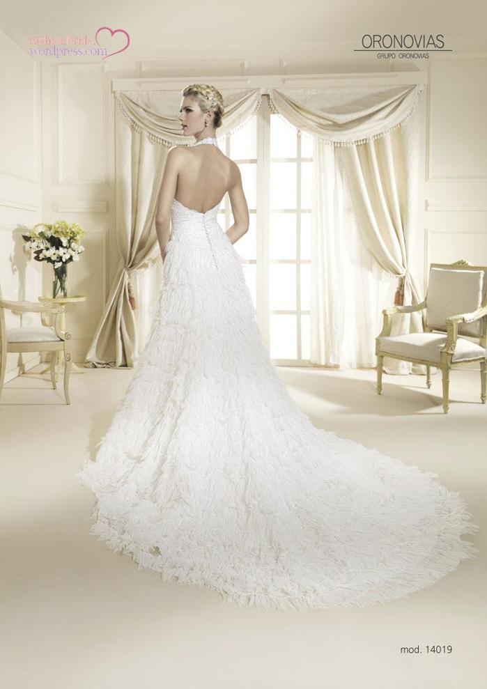 Wedding dresses 2014 2015 bridal oronovias 65 the for Wedding dresses for brides over 65