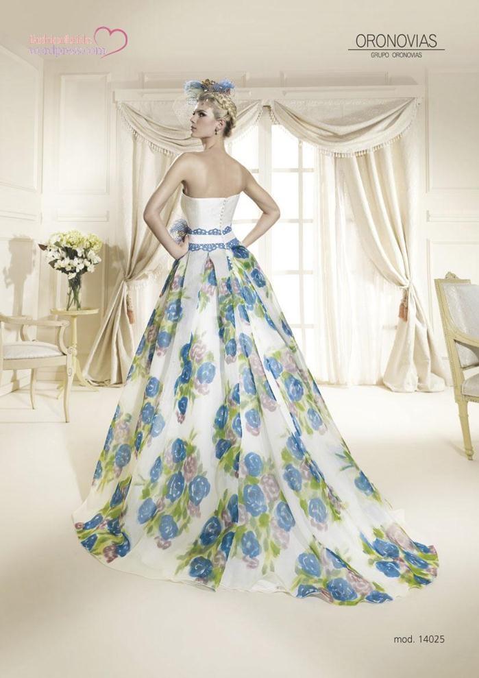 Wedding dresses 2014 2015 bridal oronovias 70 the for 70s style wedding dress