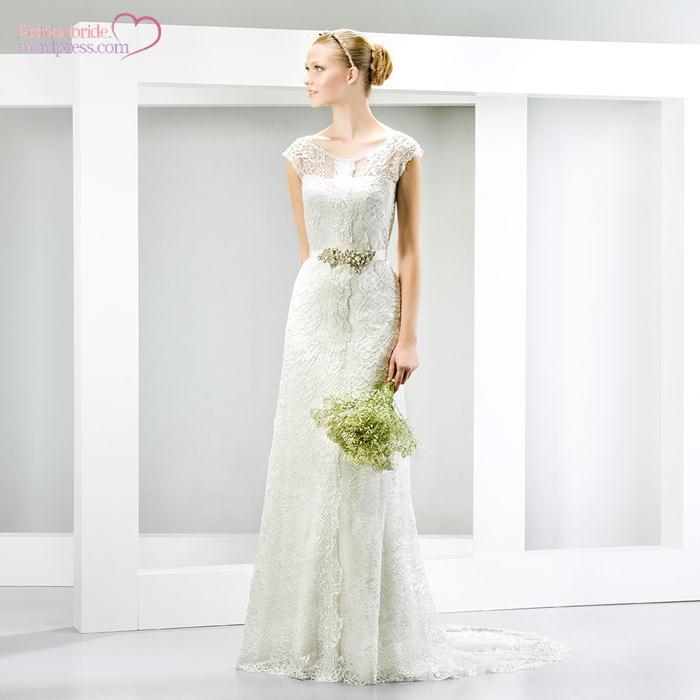 wedding dresses 2014 bridal jesus peiro 214 the fashionbrides. Black Bedroom Furniture Sets. Home Design Ideas