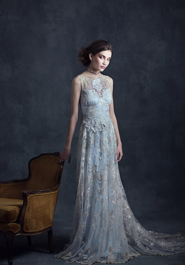 Claire pettibone 2015 spring bridal collection the for Wedding dress claire pettibone